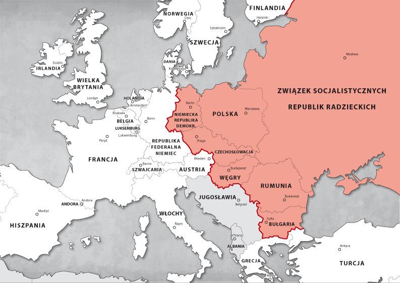 Zmiany Na Mapie Politycznej Europy Po 1989r Wazne Brainly Pl