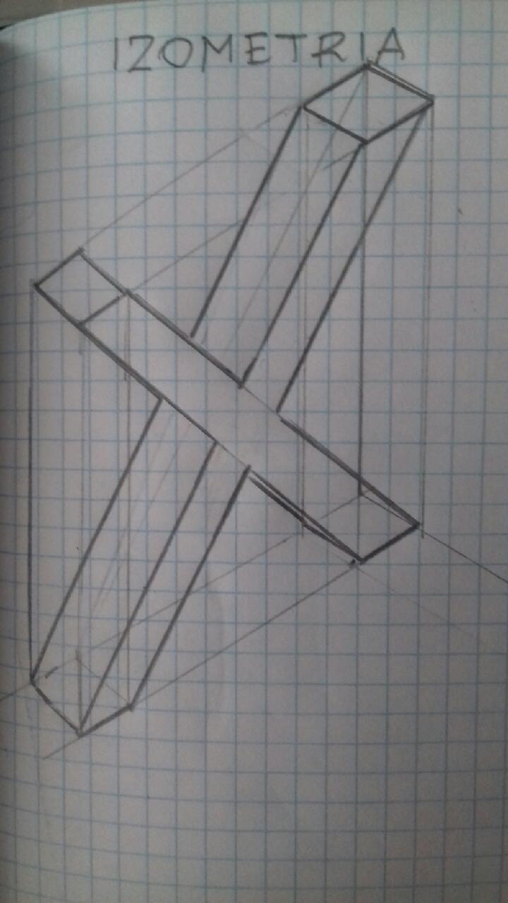 Przedstaw Literę X W Dimetrii Ukośnej I Izometrii Brainlypl