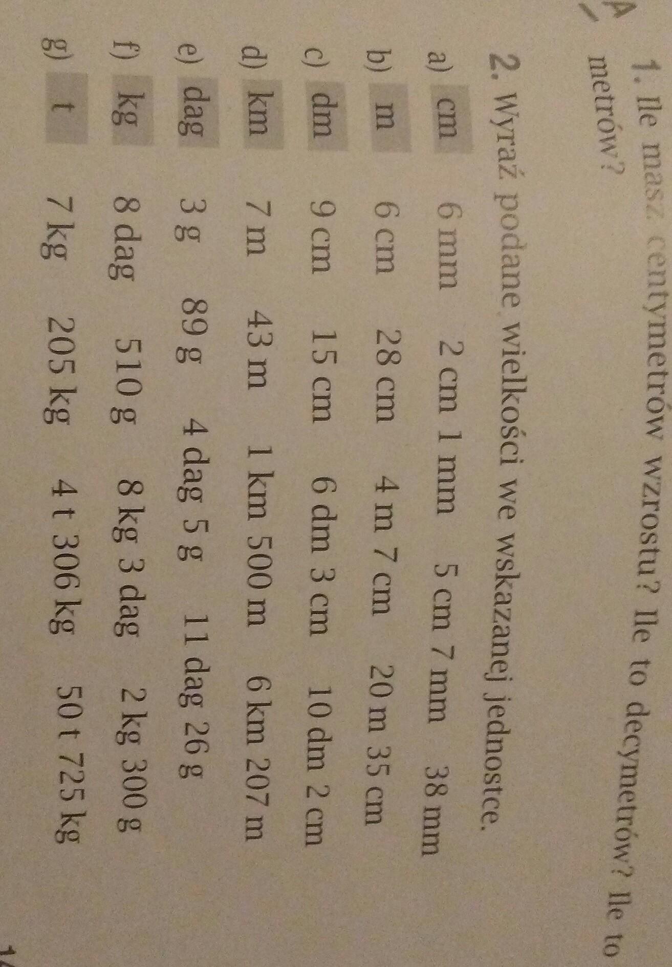 Ile Masz Centymetrow Wzrostu Ile To Dm Ile To M Mam 149