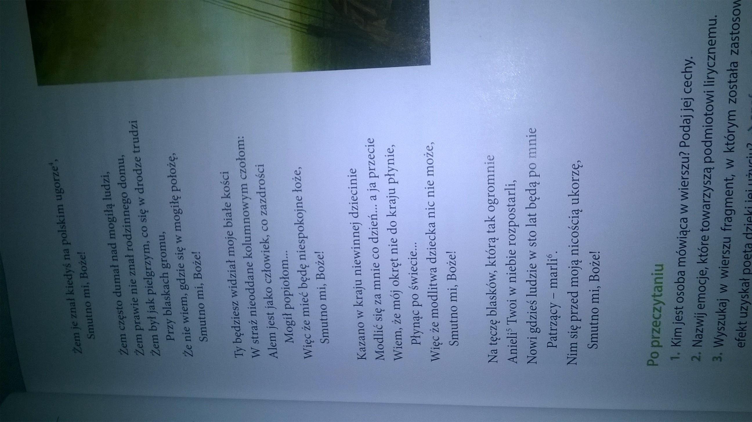 O Czym Jest Wiersz Juliusza Słowackiego Hymn Napisz O