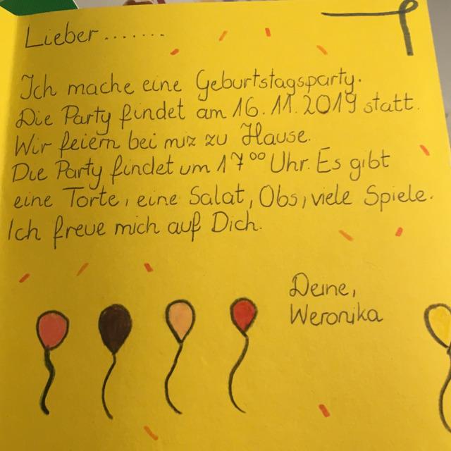 Czy Ktos Kto Zna Niemiecki Moze Mi Powiedziec Czy To Zaproszenie