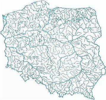 Mapa Z Zaznaczonymi Rzekami Polski Brainly Pl