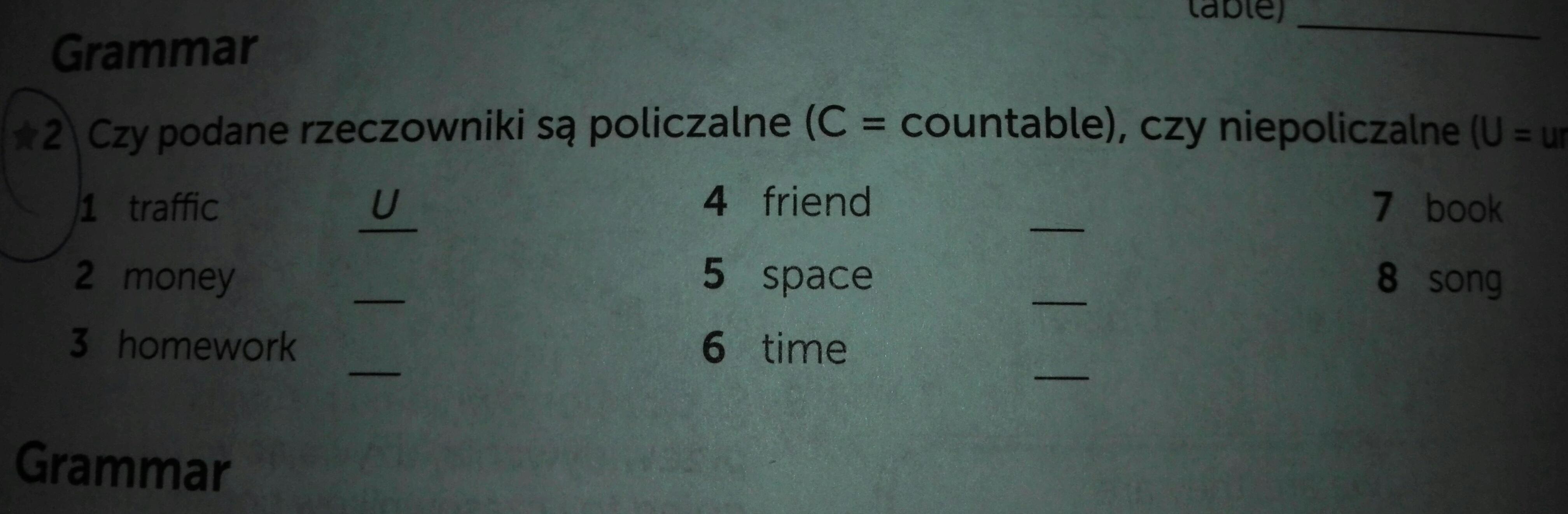 homework policzalne czy niepoliczalne