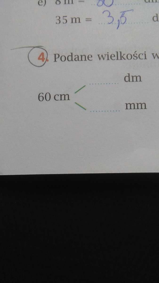 60cm To Ile Mm I Dm Plis Pomocy