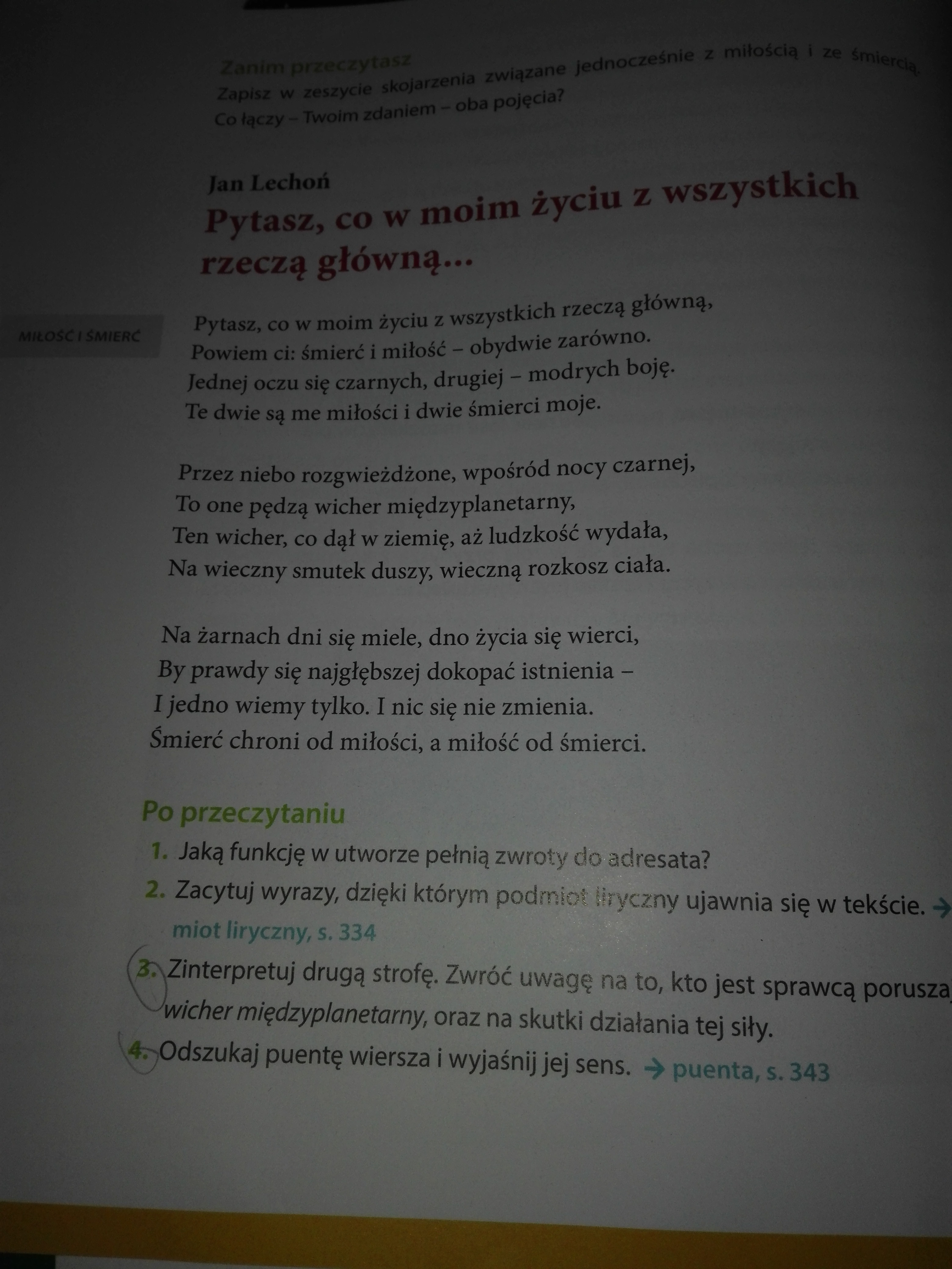 Zad 3 I 4 Strona 18 Podręcznik Do Klasy 7 Nowe Słowa Na