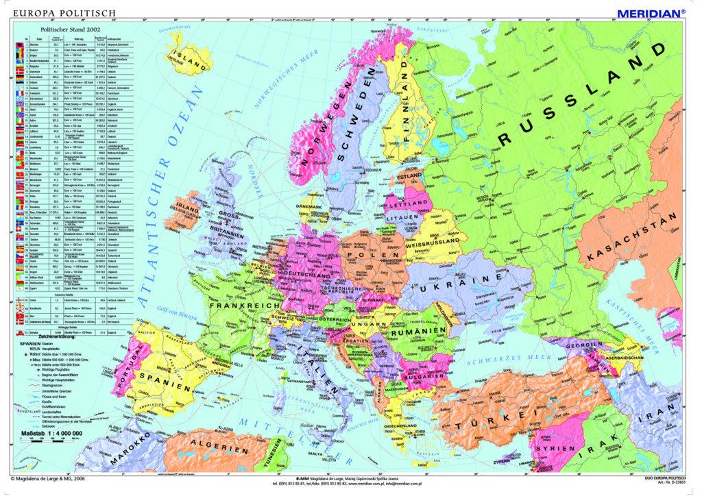 Ich Und Du 6 Strona 6 Zadanie B1europaische Lander Beschrifte