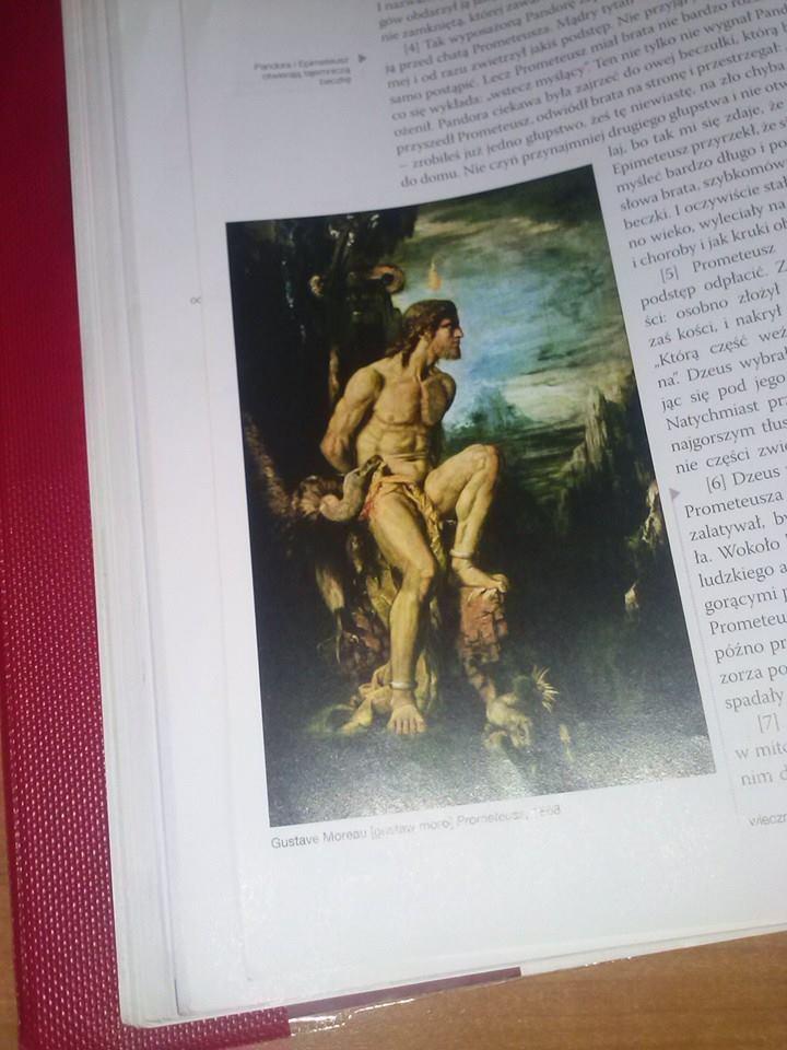 Interpreter Obraz Gustava Moreau Prometeusz Dokonaj Oceny