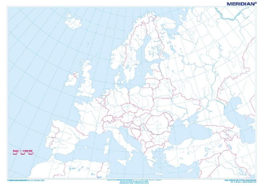 Czy Moze Ktos Mi Zaznaczyc Na Mapie Europy Wskazane Brainly Pl