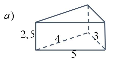 gorąca sprzedaż online gorąca wyprzedaż podgląd Narysuj.1)graniastosłup trójkątny o wysokości 2,5 cm i ...