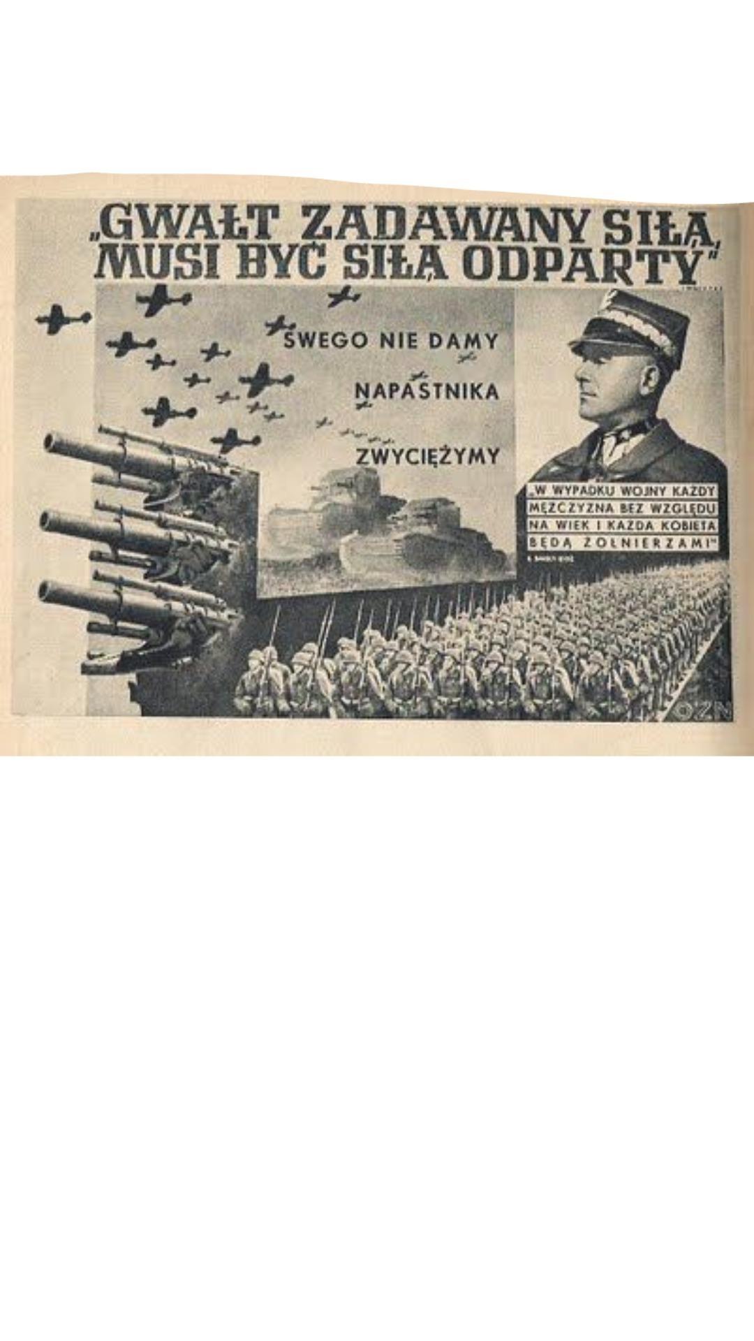 Przyjrzyj Się Ilustracji Przedstawiającej Polski Plakat