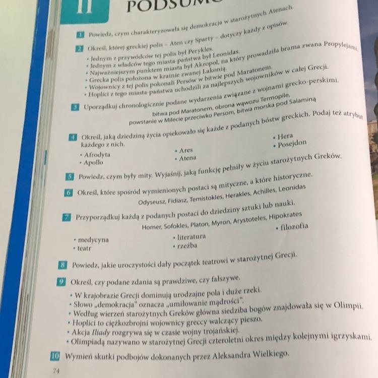 Topnotch Wczoraj i dziś klasa 5 podsumowanie działu 2 - Brainly.pl JD64