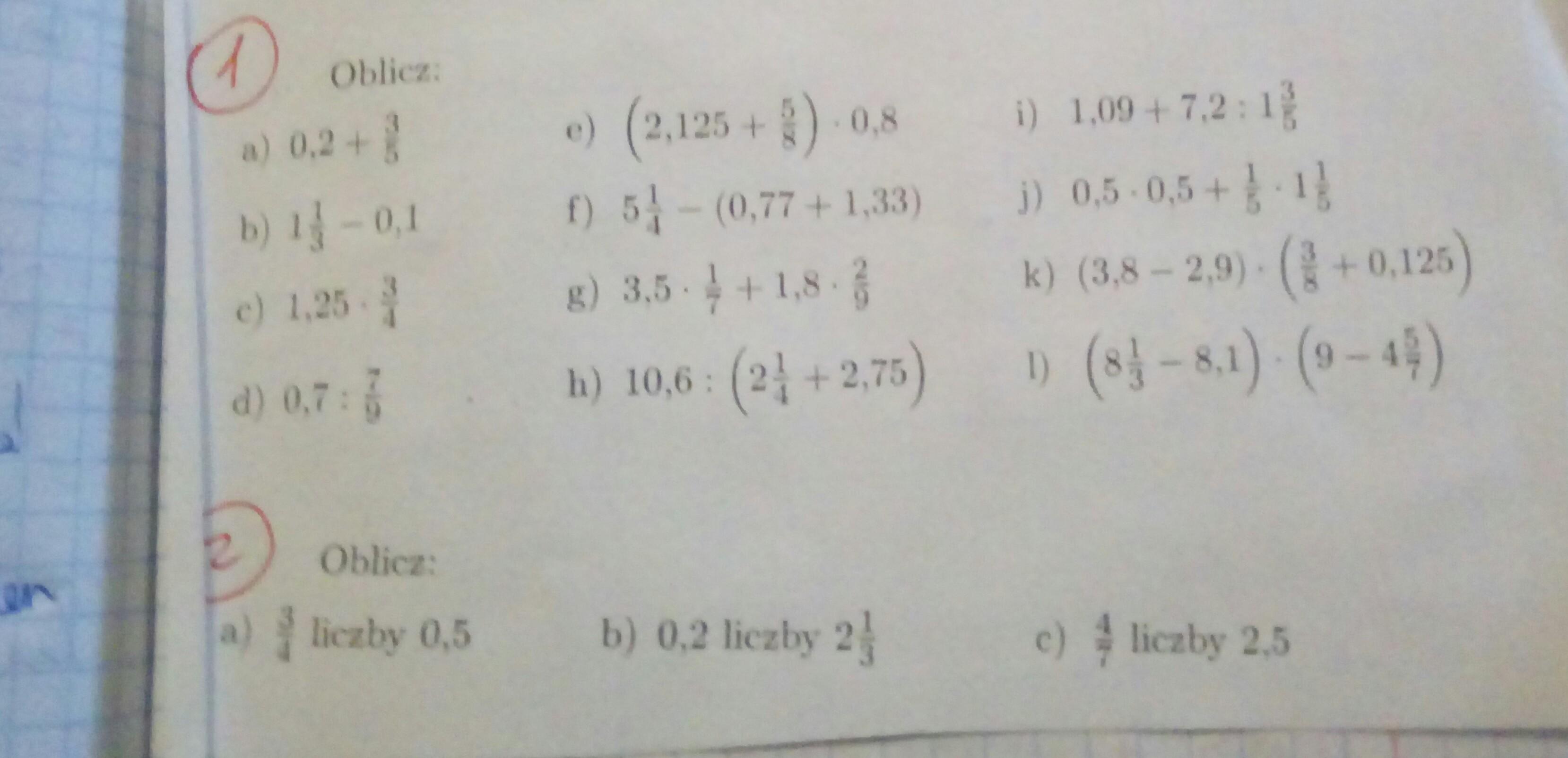 Liczby 5 I 0