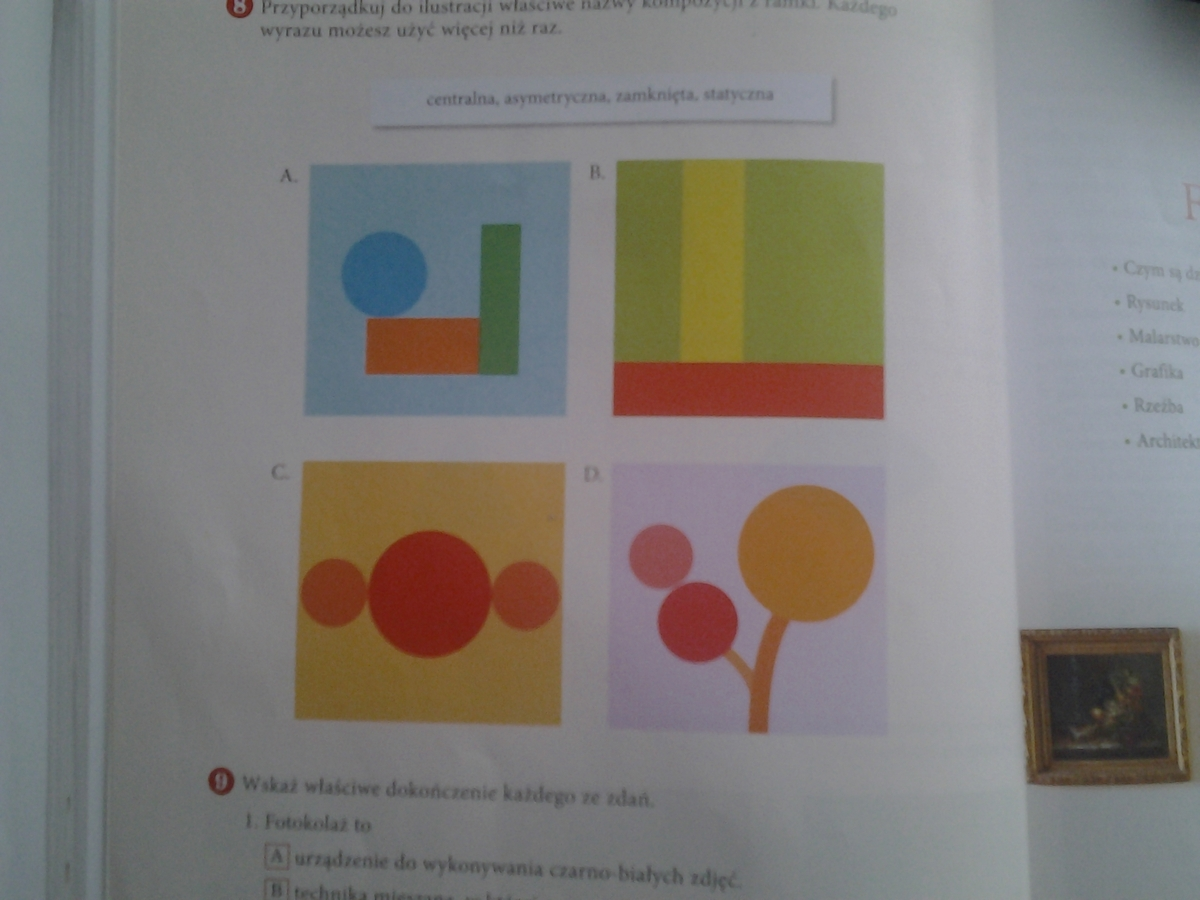 1wyjasnij Co To Jest Linia Punkt Kompozycja Faktura światłocień 2