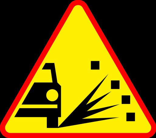 jak zrobic w logo komeniusz znak drogowy a28 i d27