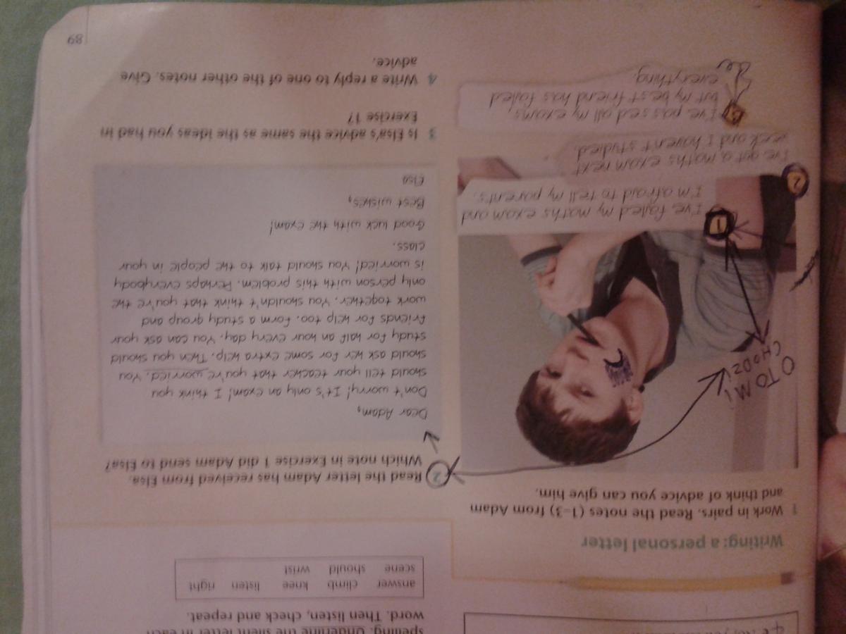 Napisz List Do Kolegi Po Angielsku Na Temat Oblałem Test Z Matmy I