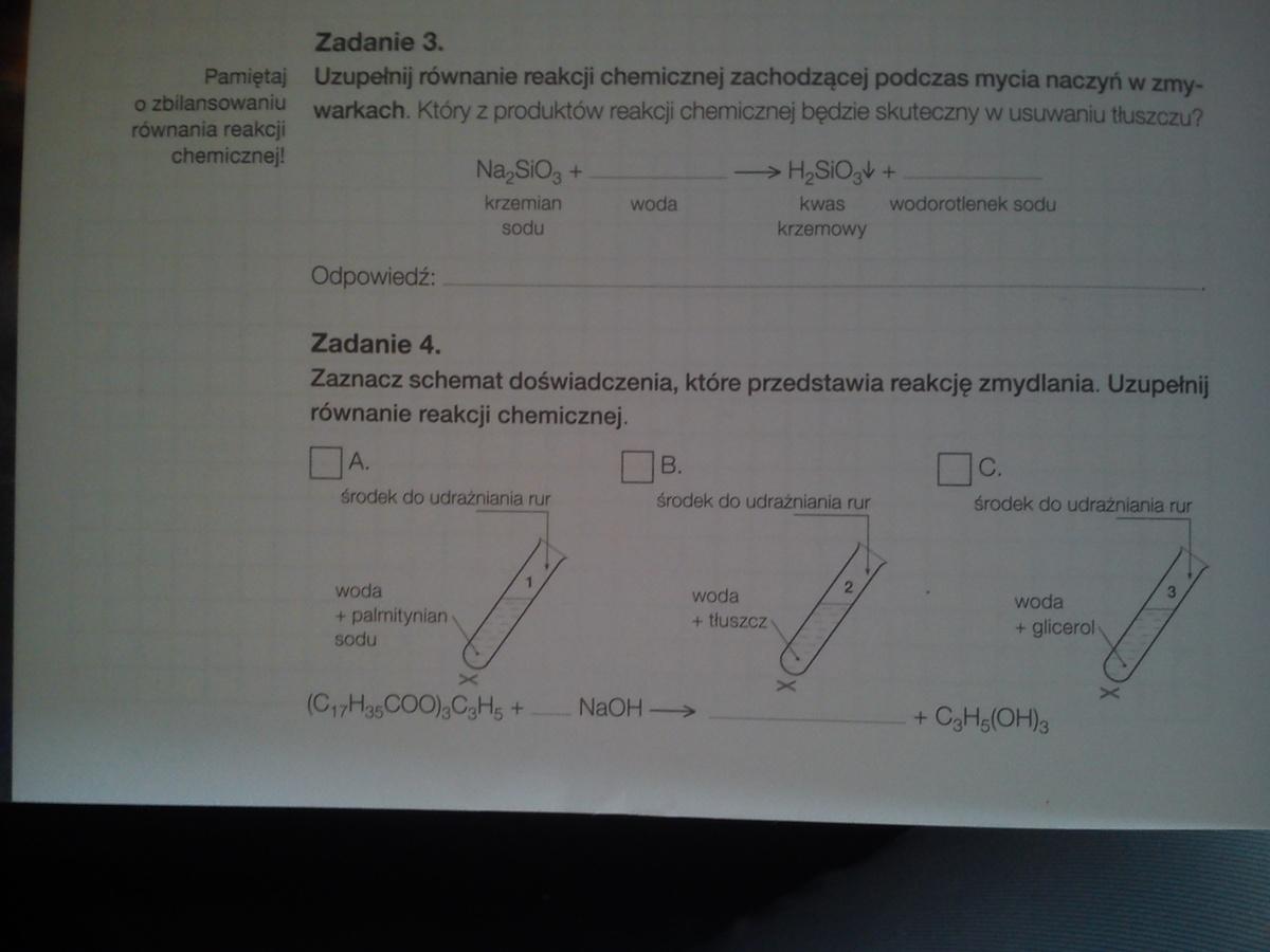 rodzaje substancji leczniczych chemia karty pracy