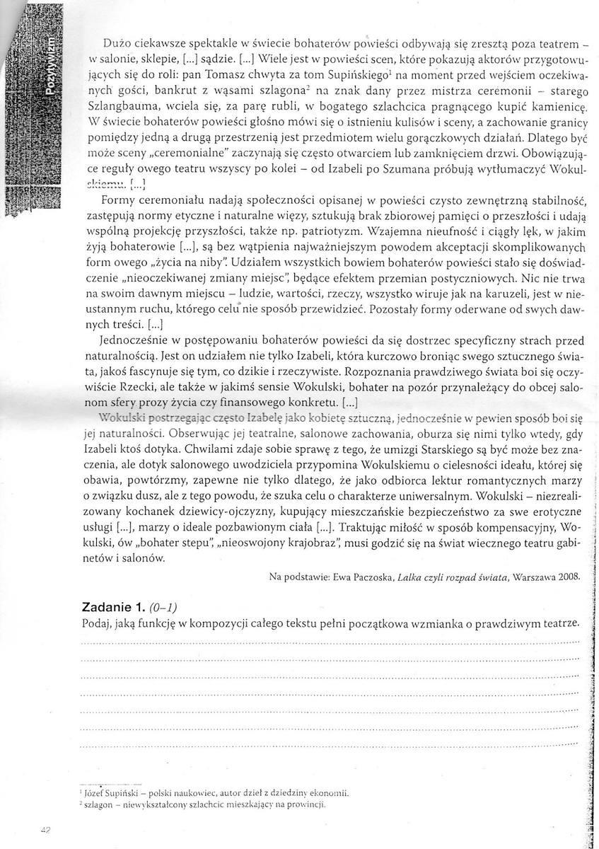 Polski Czytanie Z Zrozumieniem C Help C Daje Naj Lt3 C