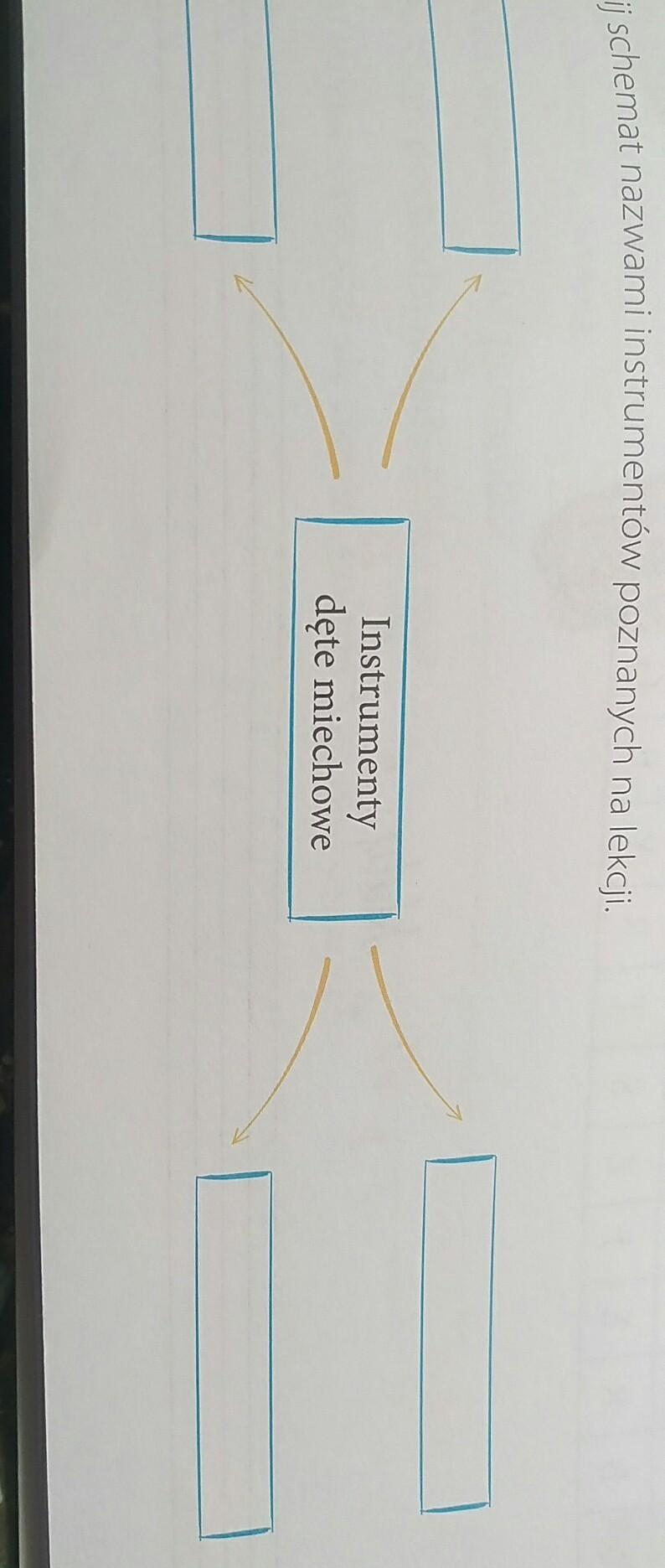 Poważnie Uzupełnij schemat nazwami instrumentów poznanych na UB38