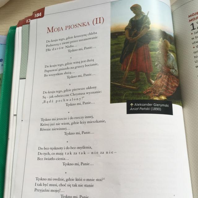 środki Stylistyczne W Wierszu Moja Piosnka 2 Z Cytatami