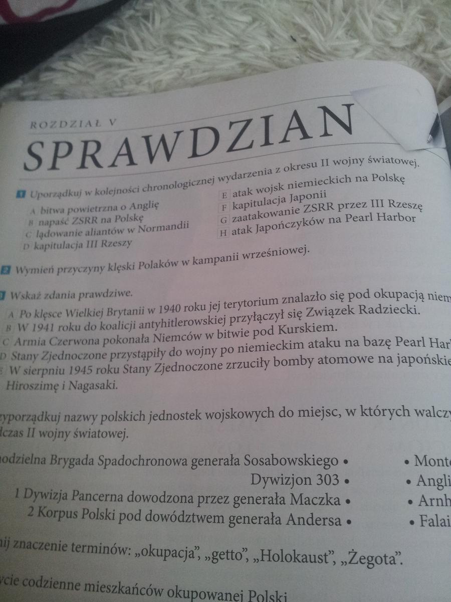 Bardzo dobra historia klasa 6 wczoraj i dziś s.142 - Brainly.pl BR96