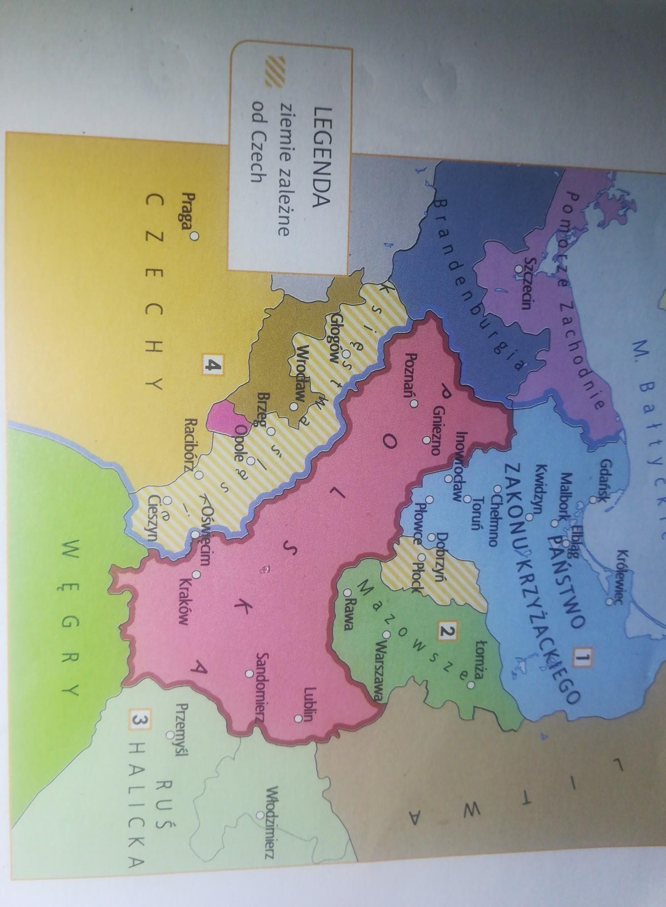 Daje 45 Punktow Mapa Na Stronie Obok Pokazuje Polska