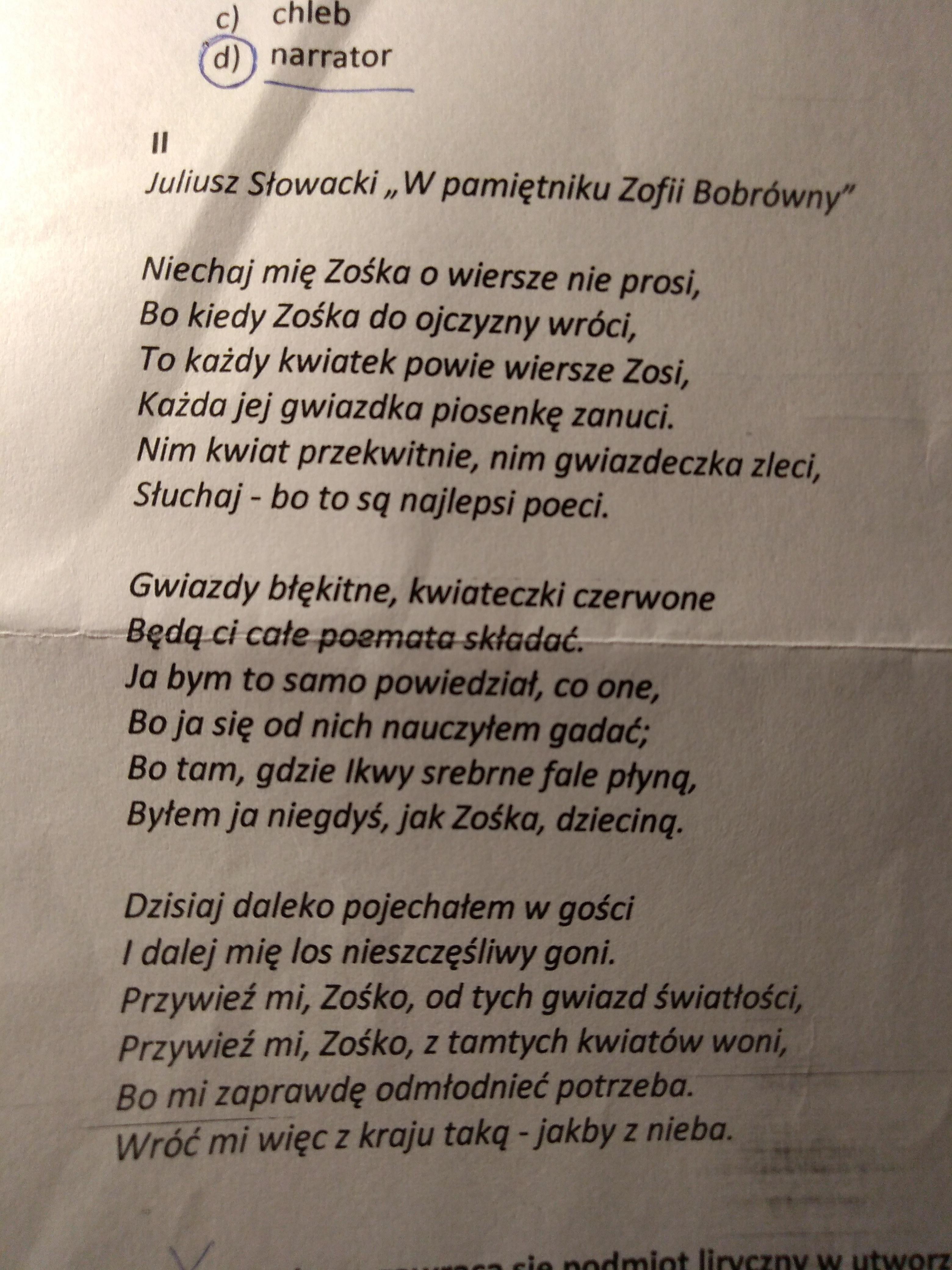 Blagam Szybkoooo Jak Ktos Umie Polski To Dla Niego łatwe To