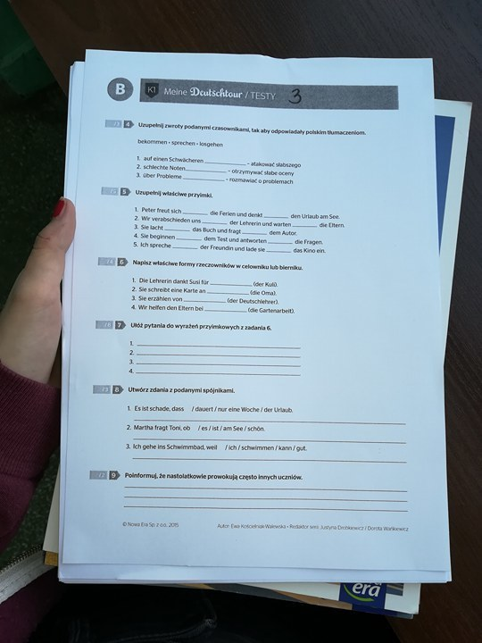 meine deutschtour 8 testy pdf