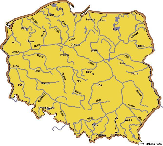 Witam Potrzebuje Mapy Konturowej Polski Z Podpisanymi Co Najmniej
