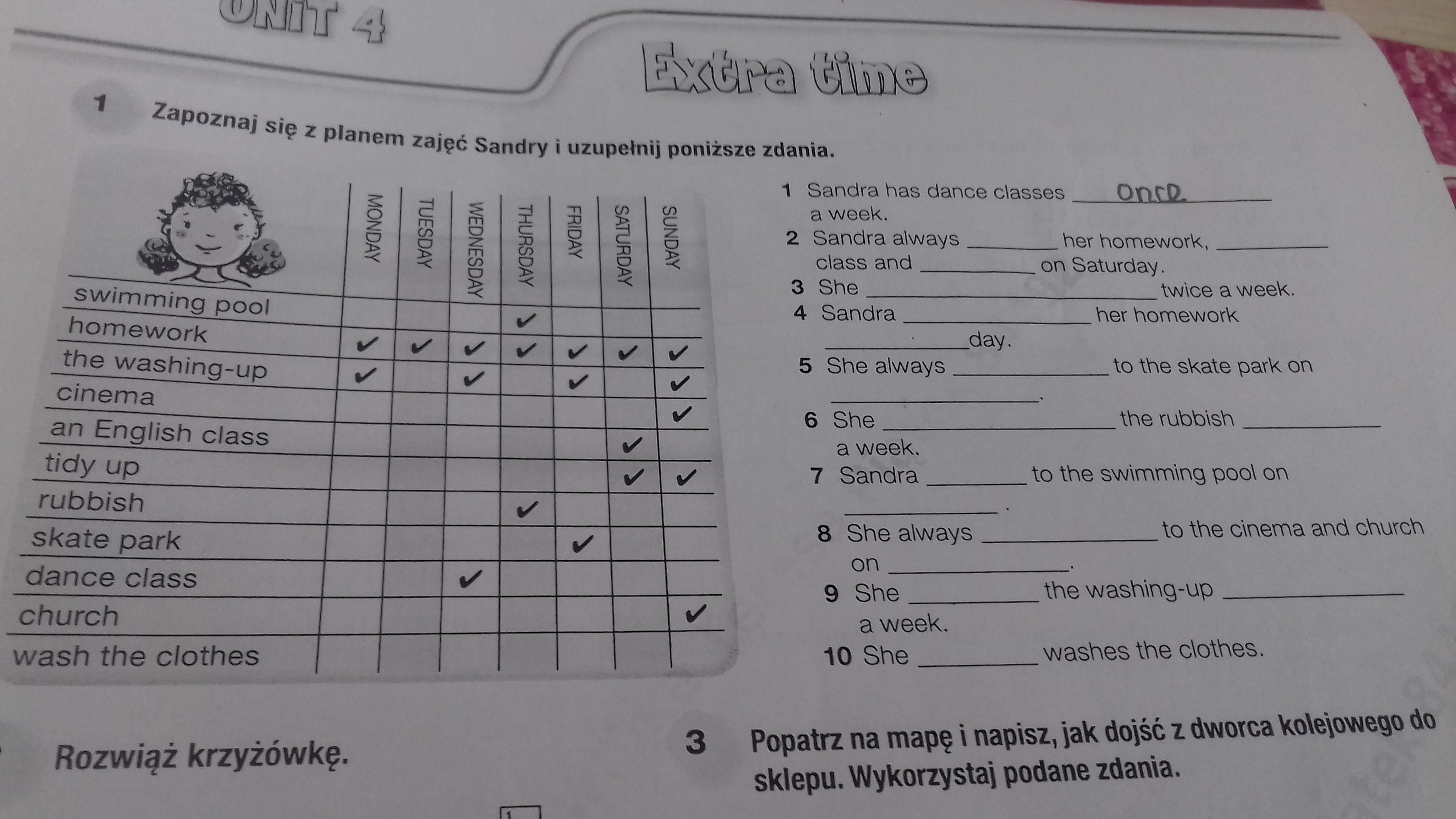 napisz pytania do poni szych odpowiedzi my english homework