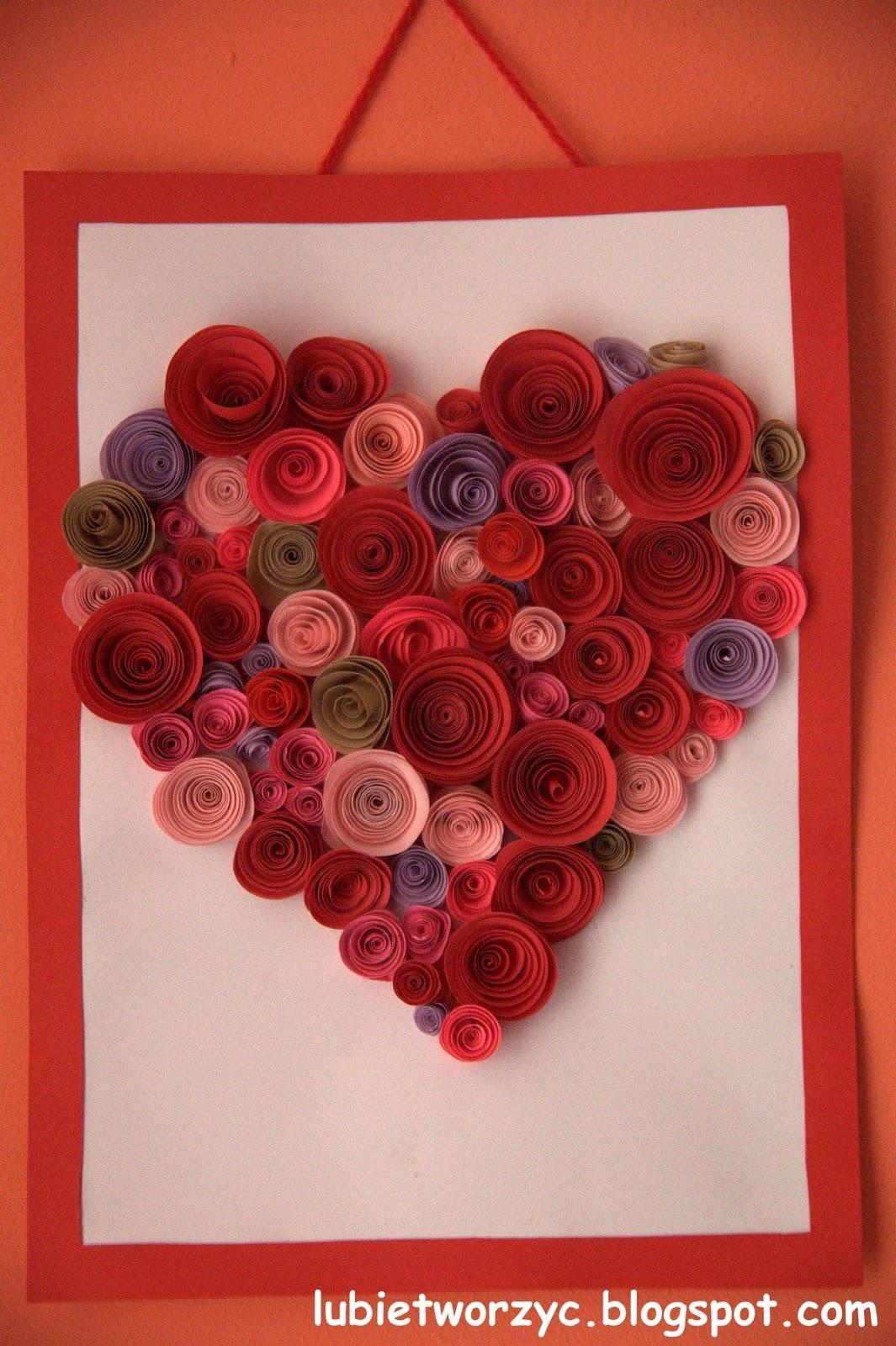 Днем рождения, открытки своими руками из бумажных роз