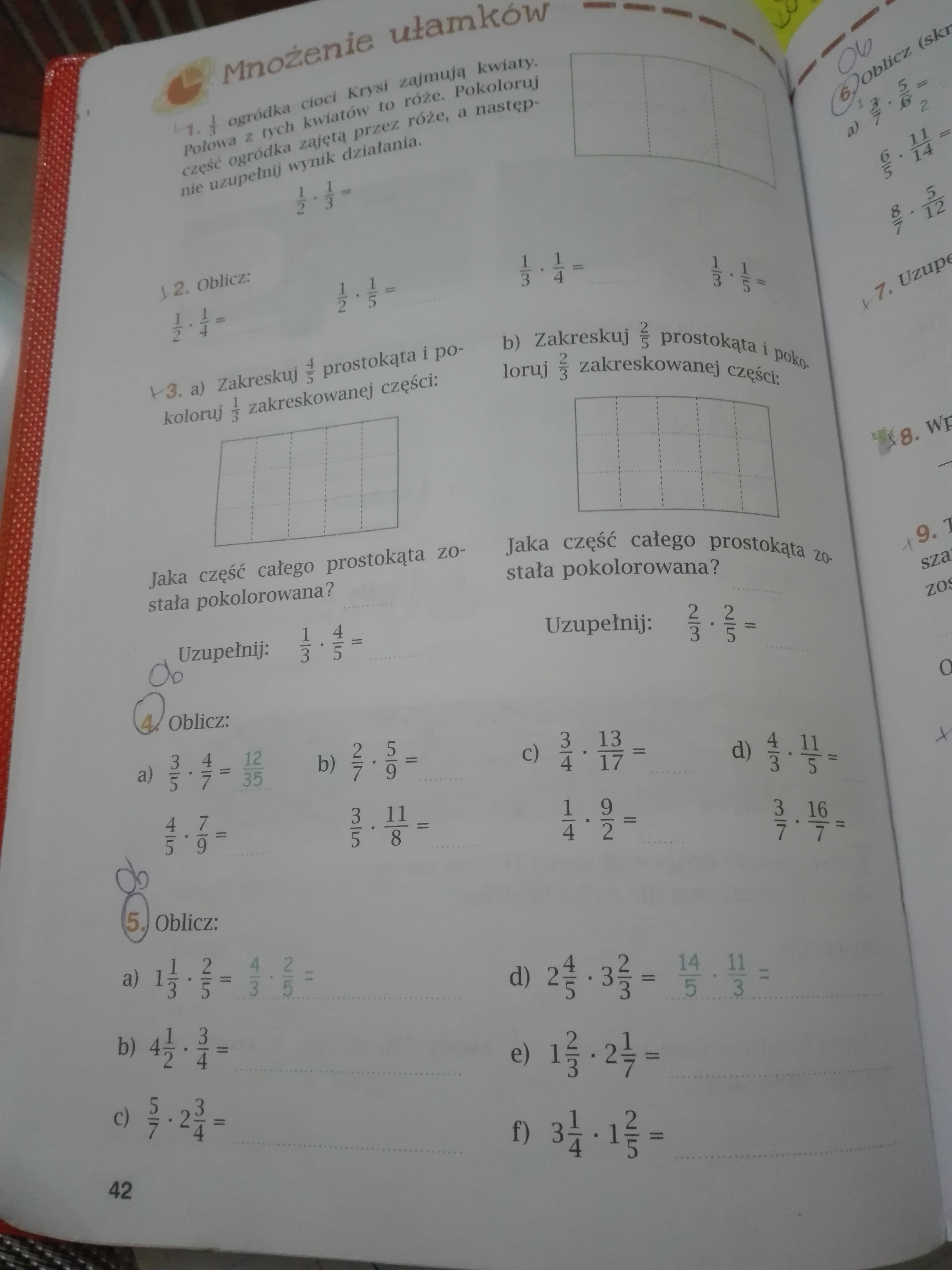 matematyka 2001 klasa 6 ćwiczenia część 2 odpowiedzi