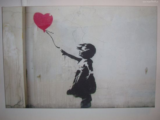 Co Może Oznaczać Mural Banksyego Dziewczynka Z Balonikiem