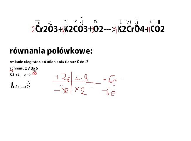 Cr2o3 k2co3 o2 k2cro4 co2
