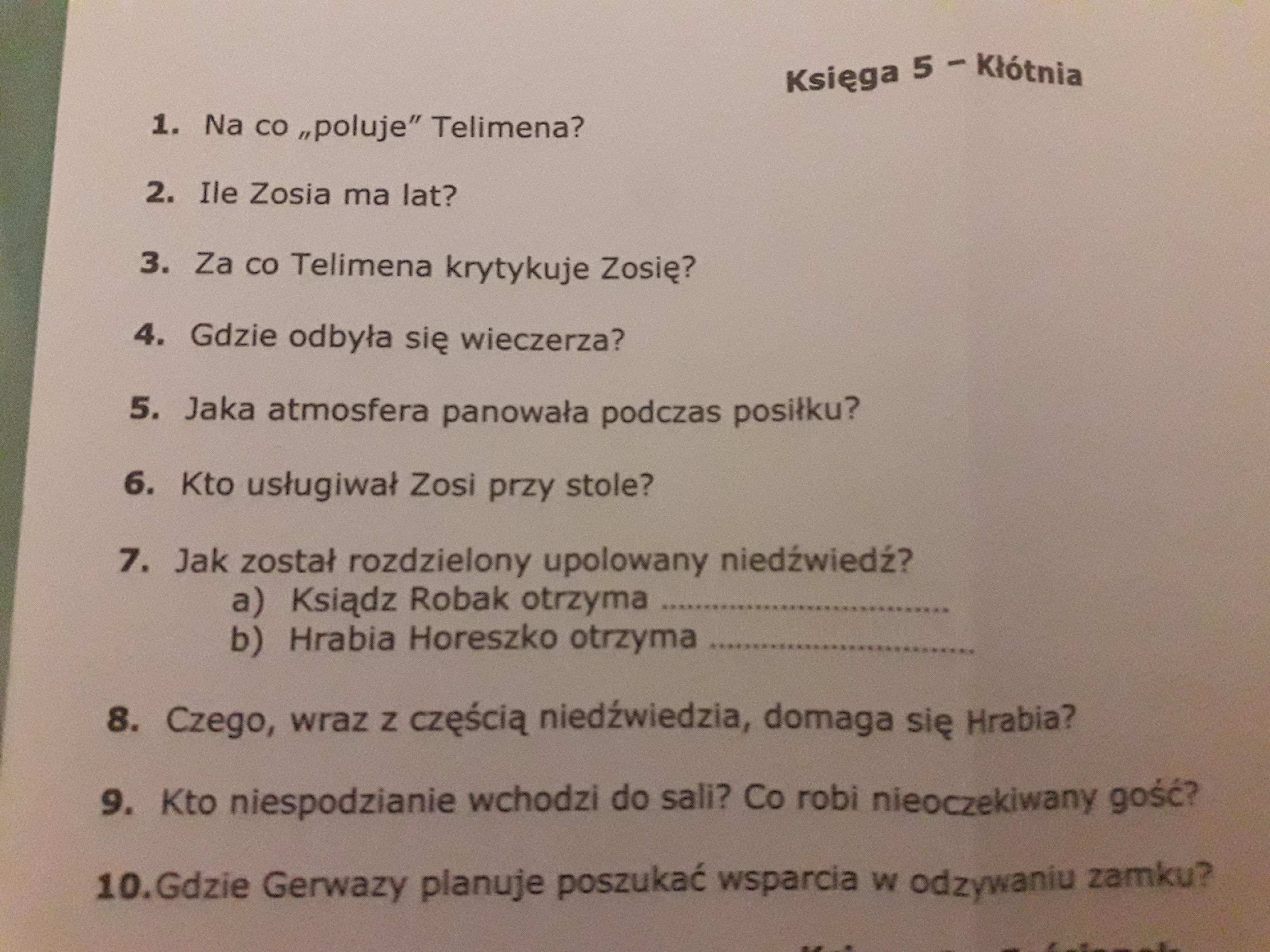 Pan Tadeusz Proszedaje Naj Brainlypl