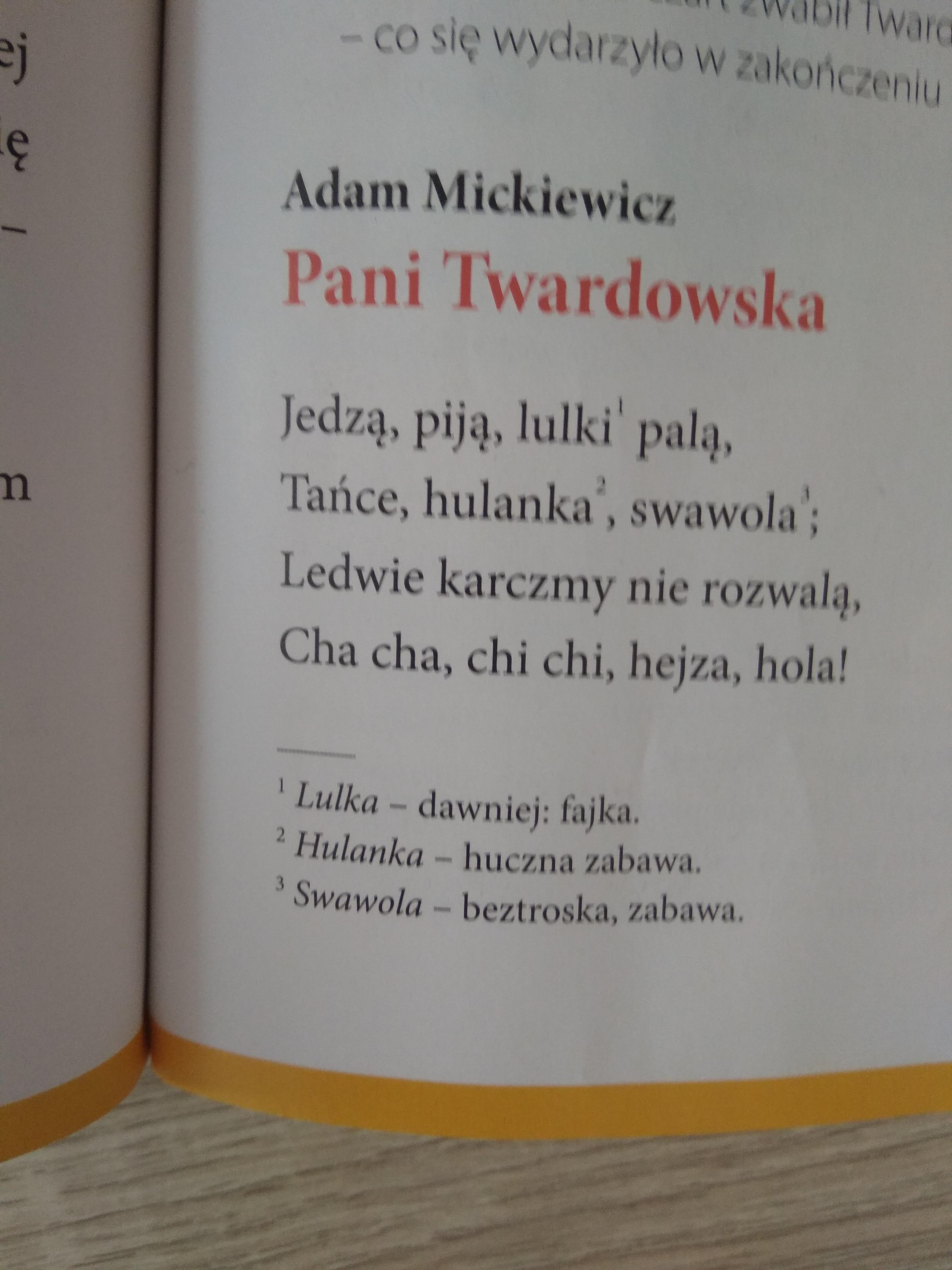 Jak Myślisz Dlaczego Utwór Adama Mickiewicza Nosi Tytuł