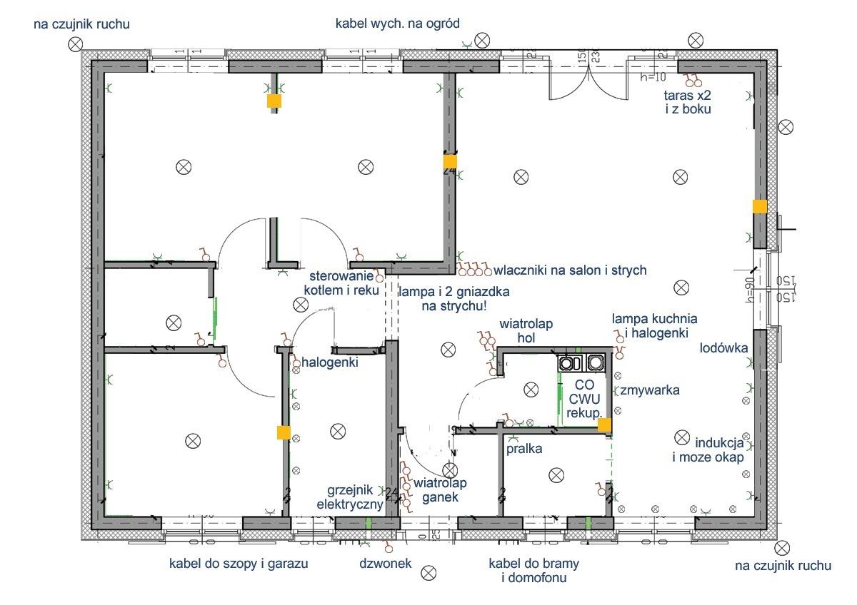 Instalacja Elektryczna W Kuchni Schemat
