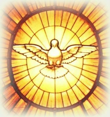 Znalezione obrazy dla zapytania duch święty rysunek