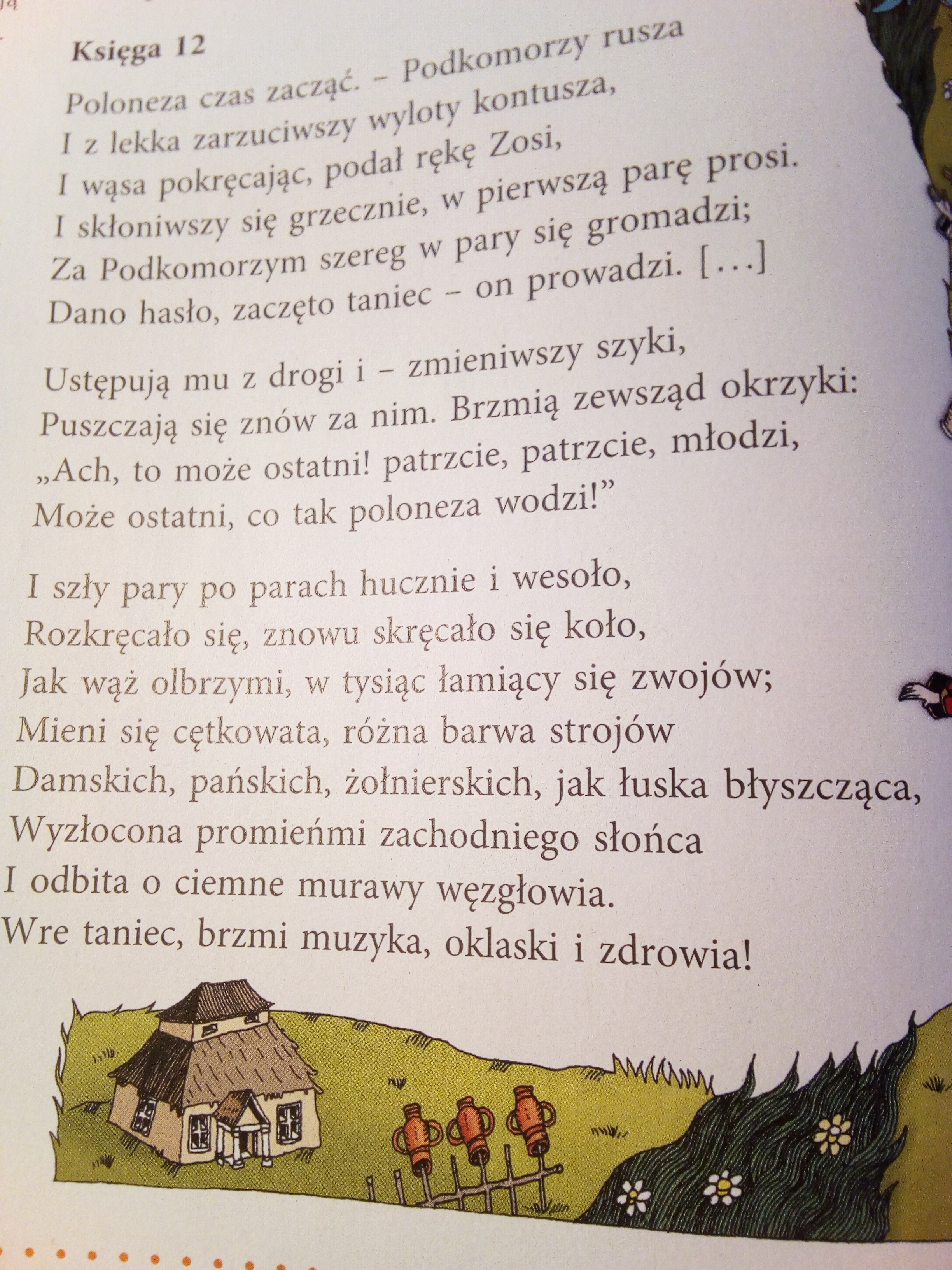 Przeczytaj Fragment Pana Tadeusza I Wykonaj Polecenia A