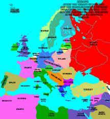Wklej Do Zeszytu Mape Europy Przedstawiajaca Zmiany Polityczne Po