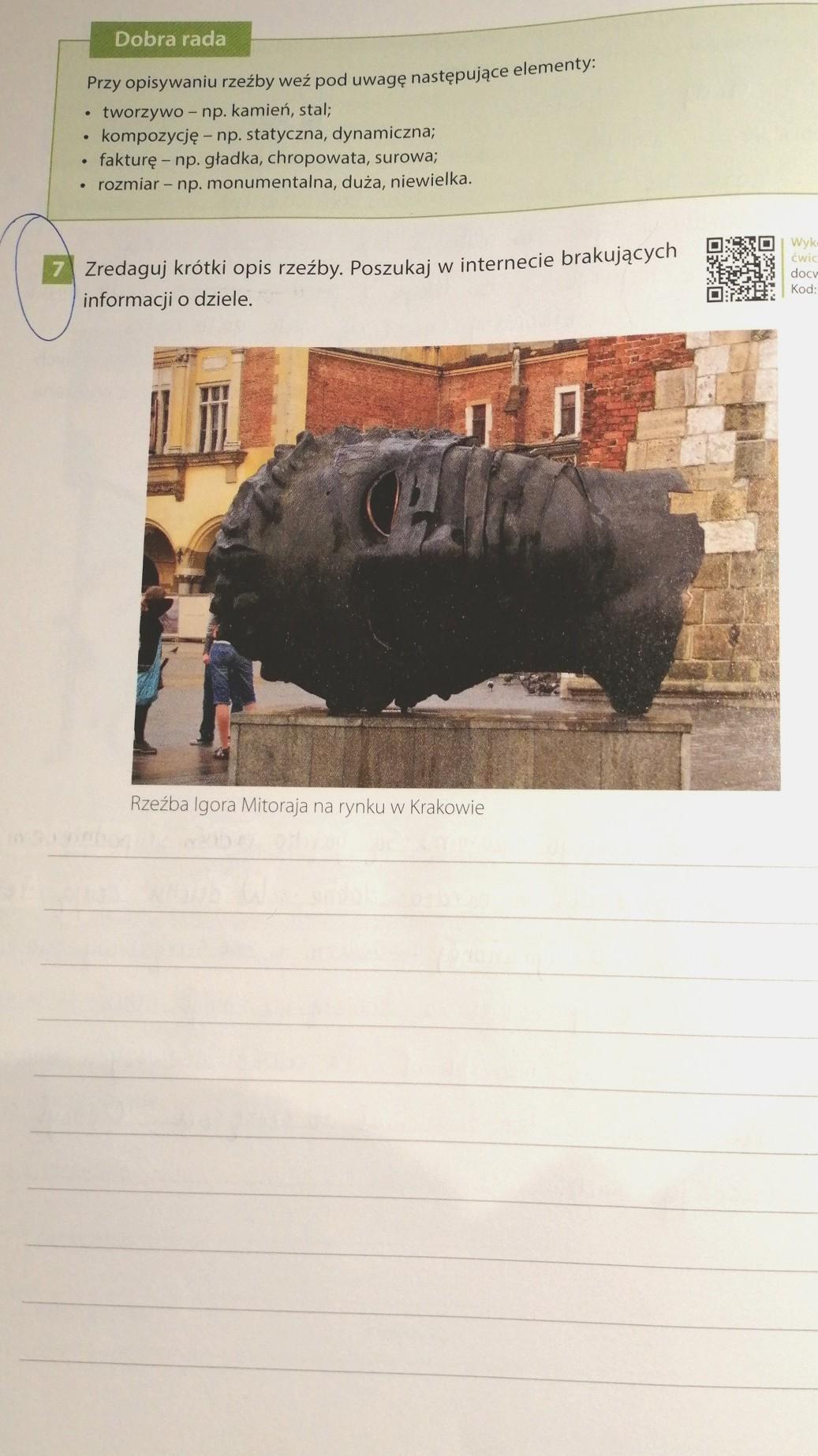 7 Zredaguj Krótki Opis Rzeźby Poszukaj W Internecie