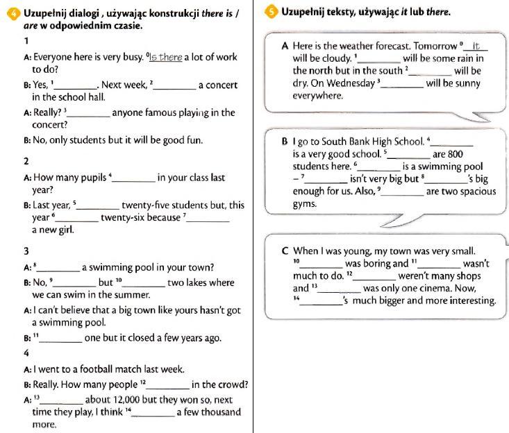Rewelacyjny 2 zadania z Longman Repetytorium gimnazjalne. Strona 4,5/197 CS32