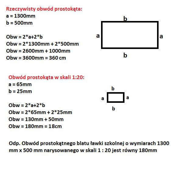Bardzo dobra prostokątny blat ławki szkolnej ma wymiary 1300 mm x 500 mm HF05