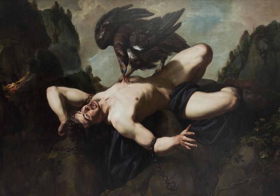 Opisz I Zinterpretuj Obraz Prometeusz Theodora Romboutsa