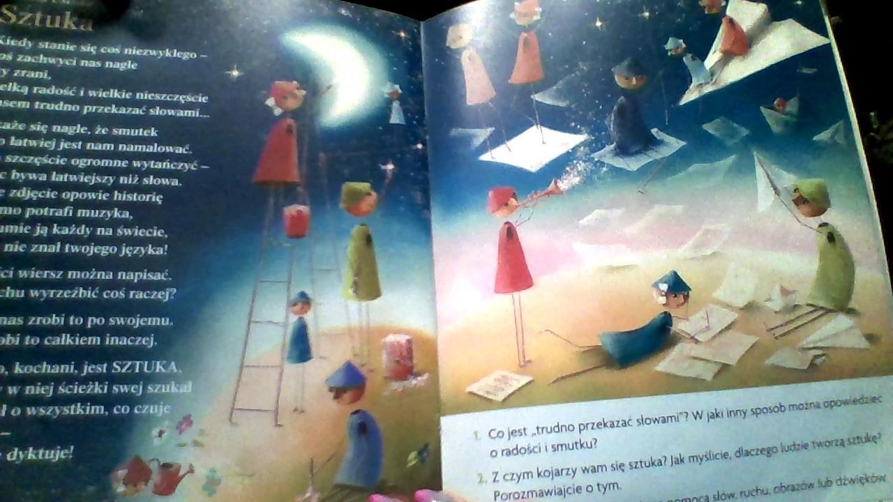 Przyjrzyj Się Ilustracji Do Wiersza Sztuka Rozwiń